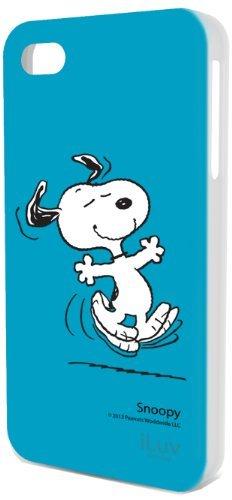 ACCESSOIRE - Étui rigide iPhone 4S personnage Snoopy danse fond ...
